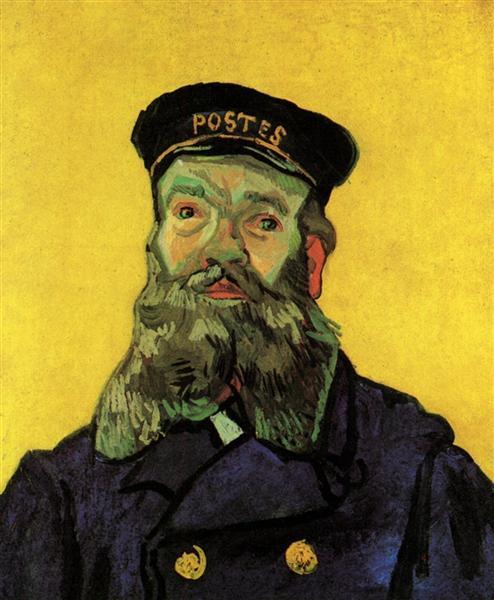 Portrait of the Postman Joseph Roulin, 1888 - Vincent van Gogh