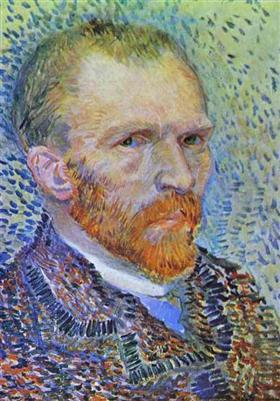 Autorretrato, Vincent van Gogh