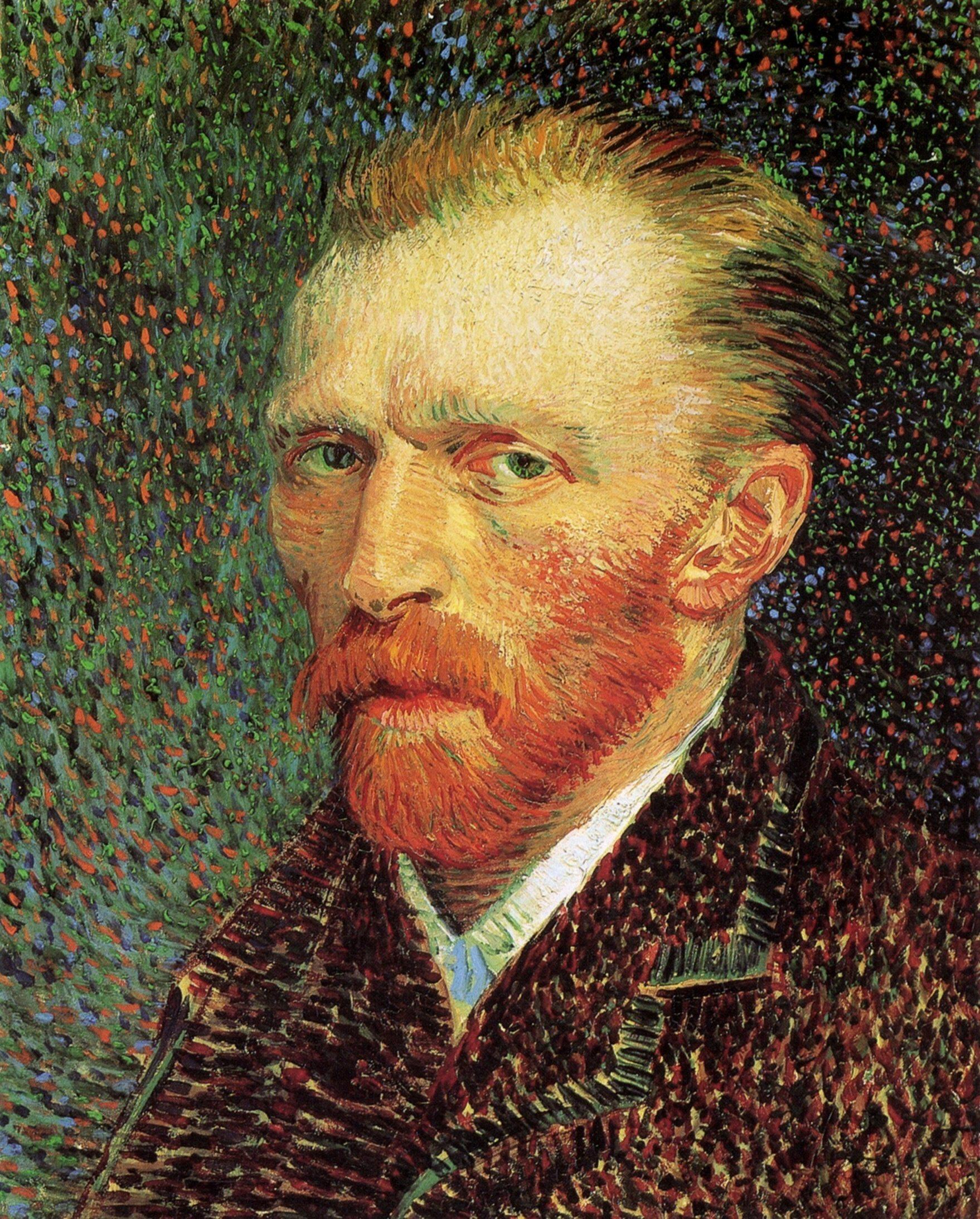 Self-Portrait, 1887 - Vincent van Gogh - WikiArt.org