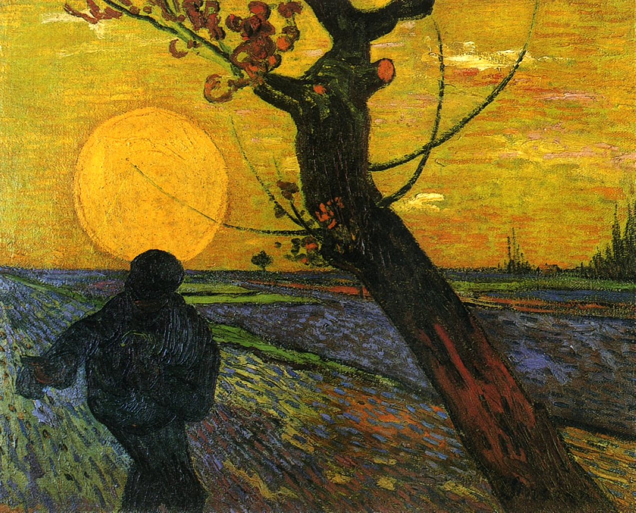 """the sower and setting sun Matthew 13 new international version (niv) the parable of the sower 13 that same day jesus went out of the house and sat by the lake 2 such large crowds gathered around him that he got into a boat and sat in it, while all the people stood on the shore 3 then he told them many things in parables, saying: """"a farmer went out to sow his."""