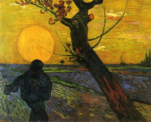 Сіятель навзаході сонця - Вінсент Ван Гог