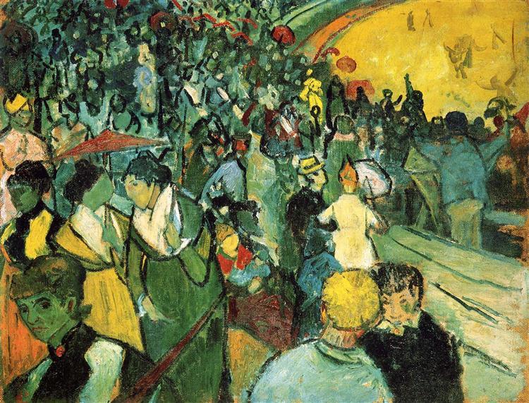 Spectators in the Arena at Arles, 1888 - Vincent van Gogh