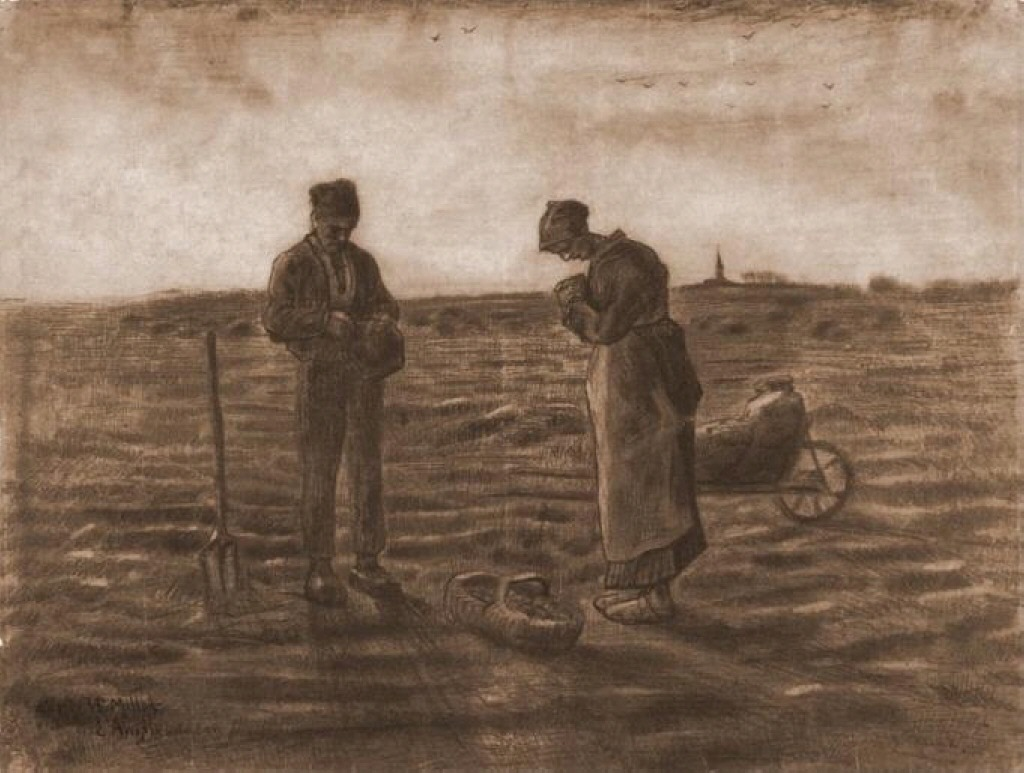 The Angelus (after Millet), 1880