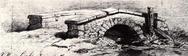 The Bridge, 1862 - Vincent van Gogh