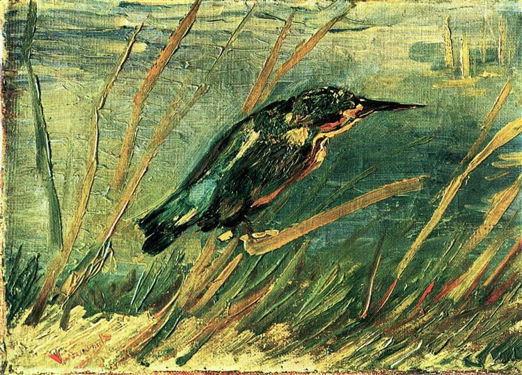 The Kingfisher, 1886 - Vincent van Gogh