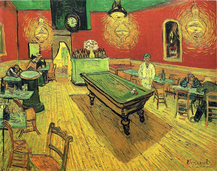 The Night Cafe, 1888 - Vincent van Gogh