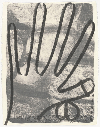 Stones for a Wall (4), 1977 - Vito Acconci