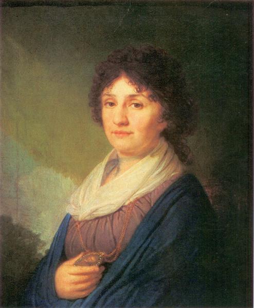 EkaterinaDavydova, 1796 - Vladimir Borovikovsky