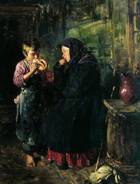 Date, 1883 - Vladimir Makovsky