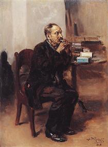 Tobacco taster - Vladímir Makovski