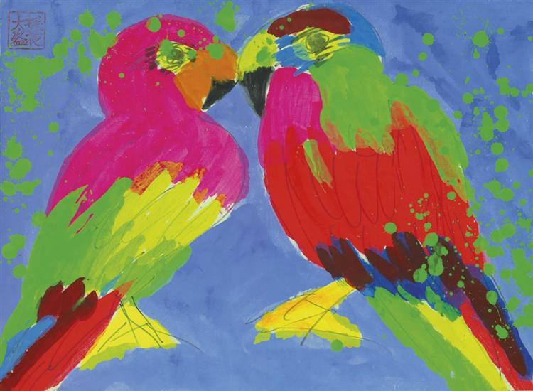 Two Parrots - Уоллес Тинг