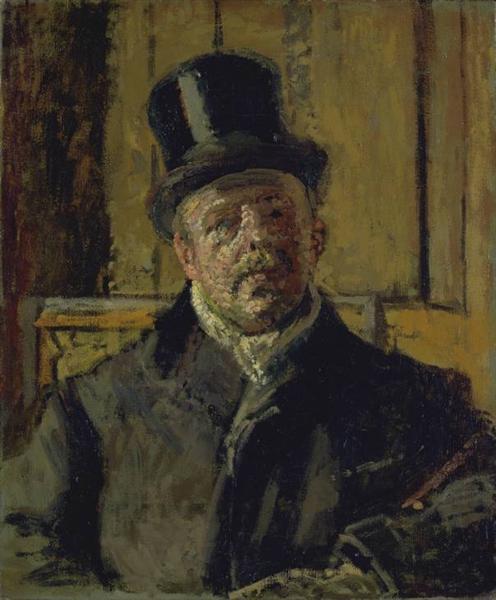 Jacques-Emile Blanche, c.1910 - Walter Sickert