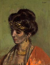 Portrait of Lady Noble - Walter Sickert