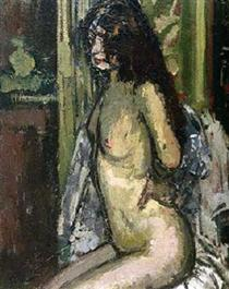 Seated Nude, Paris - Walter Sickert