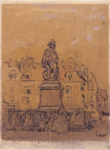 Sketch for `The Statue of Duquesne, Dieppe', 1902