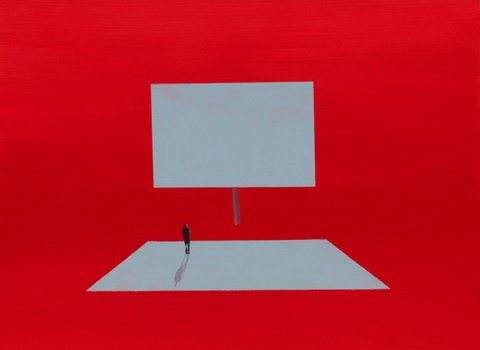 Untitled (Red), 2009 - Wanda Koop