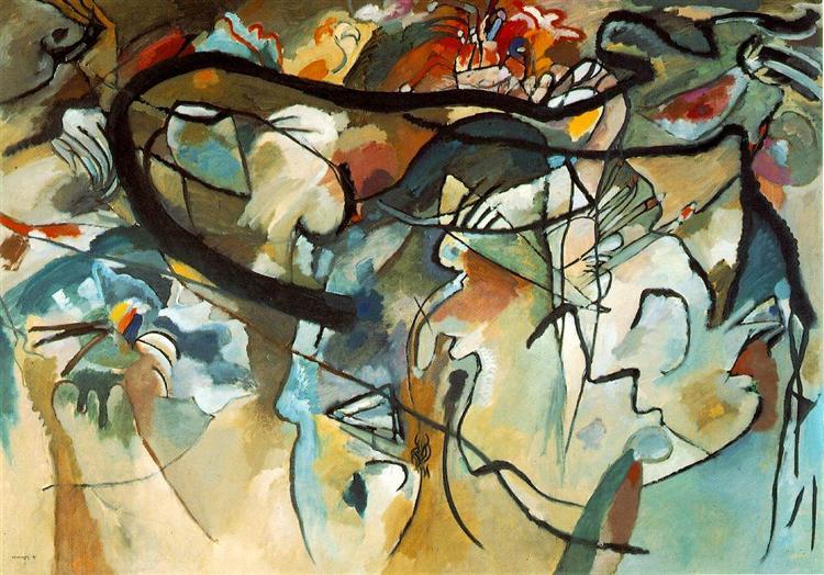 Composition V, 1911 - Wassily Kandinsky