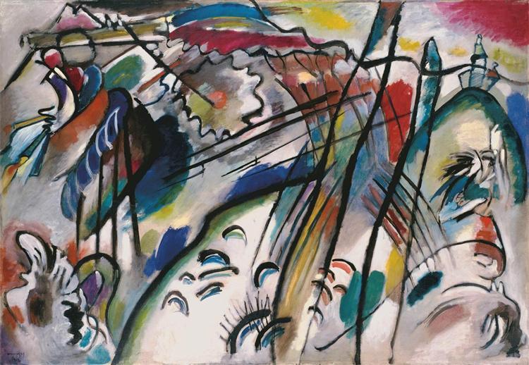 Improvisation 28 (second version), 1912 - Wassily Kandinsky