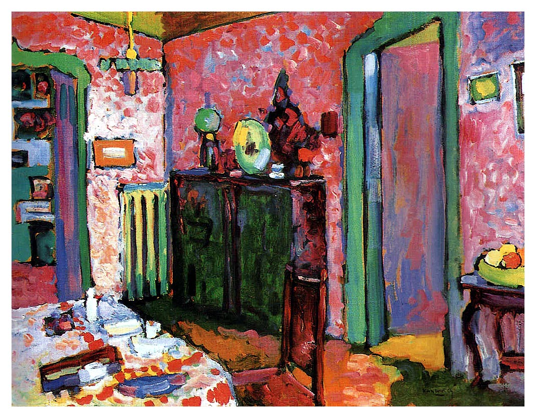 Interior my dining room wassily kandinsky wikiart for My dining room