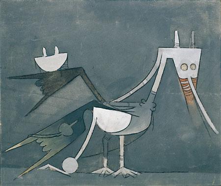 Coq caraïbe, 1970 - Wifredo Lam