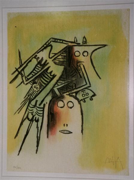 Pleni Luna, 1974 - Wifredo Lam