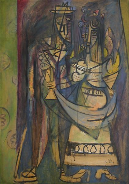 The Fiance, 1944 - Wifredo Lam