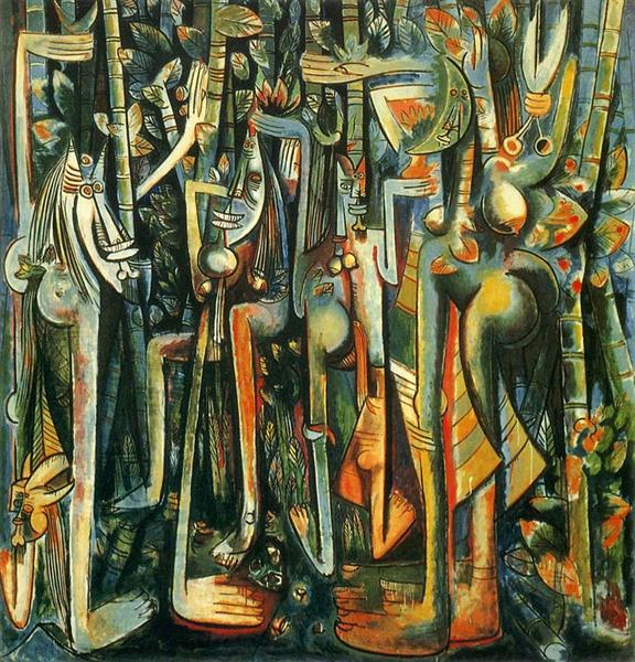 The Jungle, 1943 - Wifredo Lam