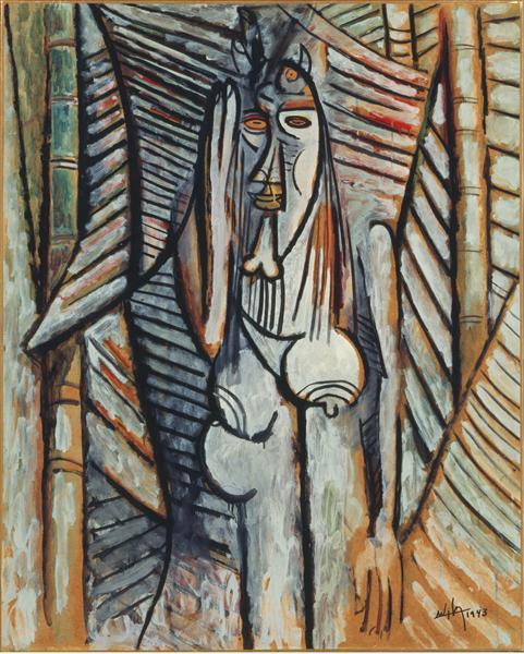 The Murmur, 1943 - Wifredo Lam