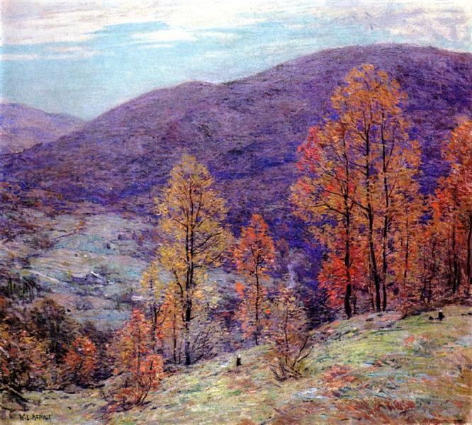 Autumn Glory - Willard Metcalf