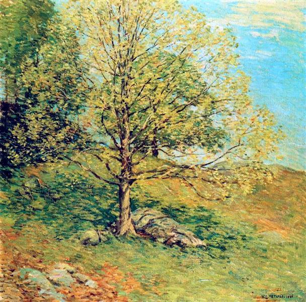 Budding Oak, 1906 - Willard Metcalf