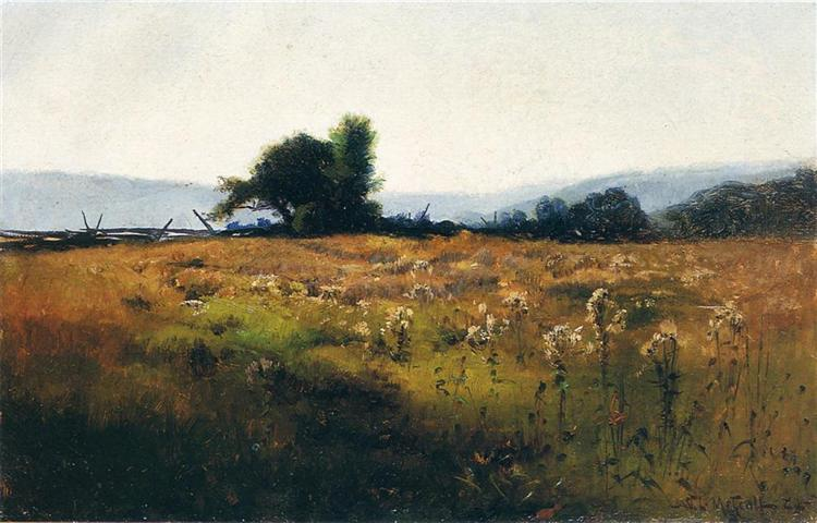 Mountain View from High Field, 1877 - Willard Metcalf