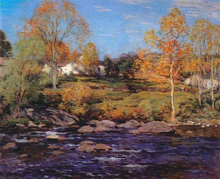 October Morning (no 1), 1910 - Willard Metcalf