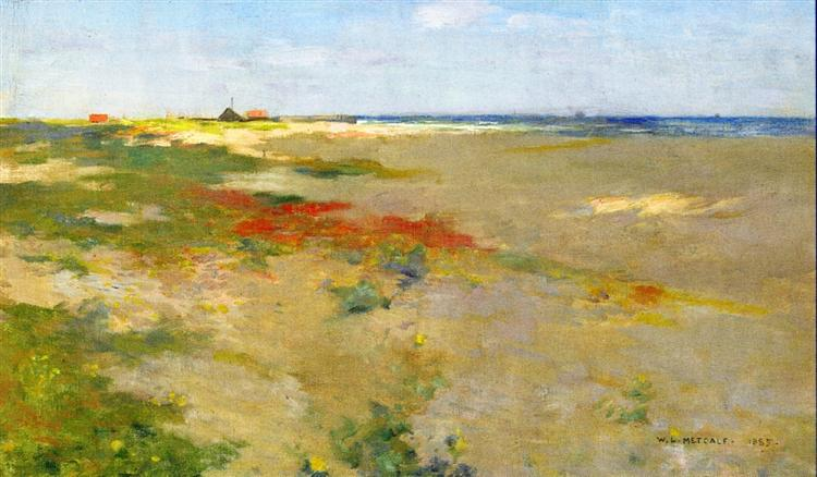 On the Suffolk Coast, 1885 - Willard Metcalf