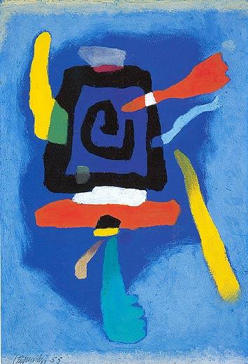 Bluxao, 1955 - Willi Baumeister
