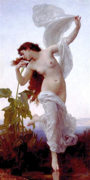Dawn, 1881 - William-Adolphe Bouguereau