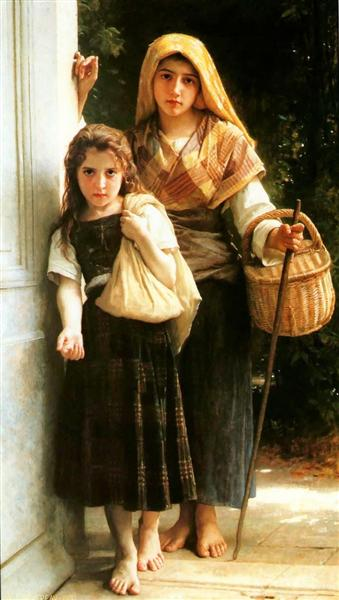 Little beggar, 1890 - William-Adolphe Bouguereau