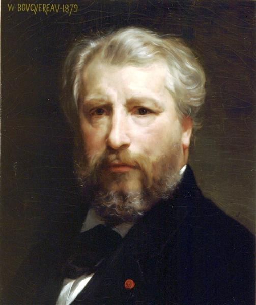 Portrait of the Artist, 1879 - William-Adolphe Bouguereau