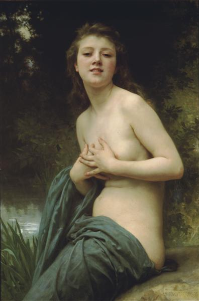 SpringBreeze, 1895 - William-Adolphe Bouguereau