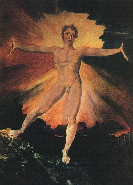 Glad Day or The Dance of Albion, c.1794 - William Blake