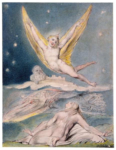 Night Startled by the Lark, 1816 - 1820 - William Blake