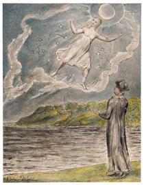 The Wandering Moon - William Blake