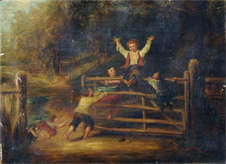 Happy as a King, 1860 - Уильям Коллинз