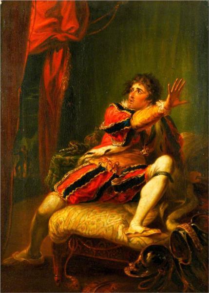 John Philip Kemble (1757–1823), as Richard in 'Richard III' by William Shakespeare, 1788 - William Hamilton