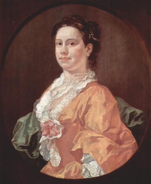 Portrait of Madam Salter, 1744 - William Hogarth