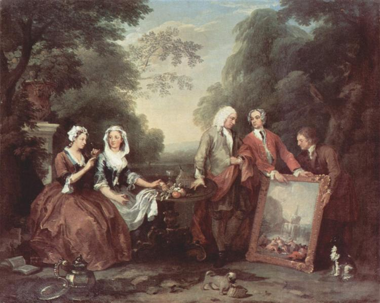 The Fountaine Family, c.1730 - William Hogarth