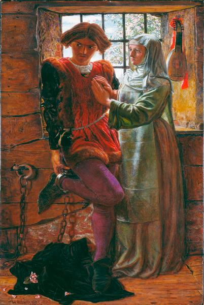 Claudio and Isabella, 1850 - William Holman Hunt