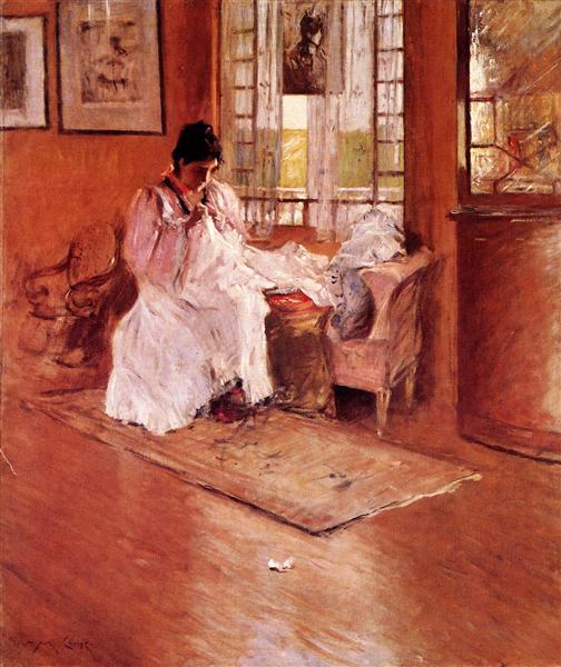 For the Little One, aka Hall at Shinnecock - William Merritt Chase