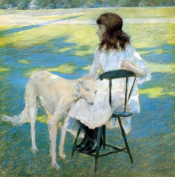 Good Friends, c.1888 - William Merritt Chase