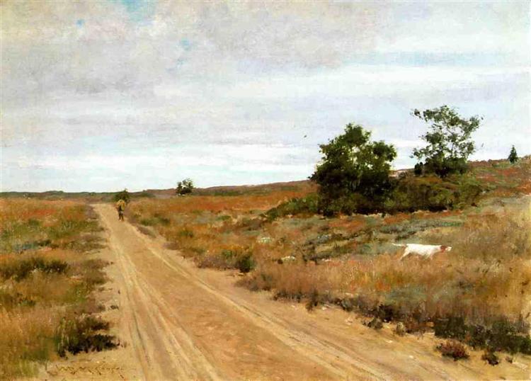 Hunting Game in Shinnecock Hills, 1895 - William Merritt Chase