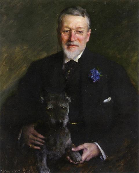 Mr. Francis Guerin Lloyd, 1915 - William Merritt Chase